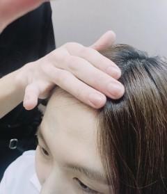 前髪の作り方