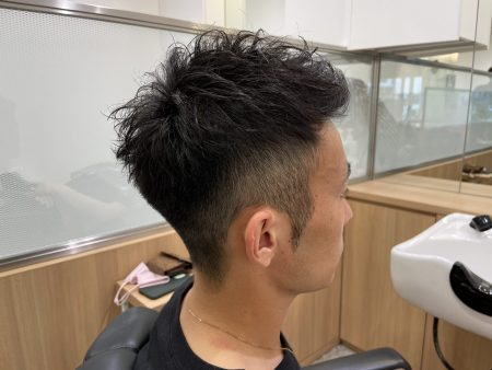 夏のショートヘア