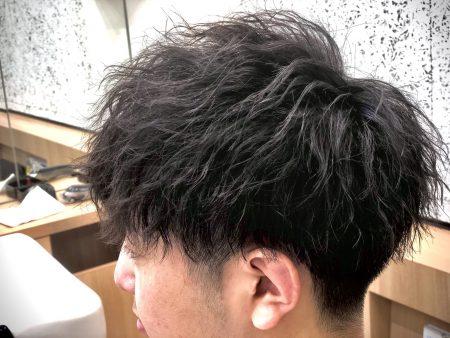 男性人気NO1【ツイストスパイラルパーマ】