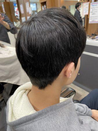 中学生男子に多い髪型の校則