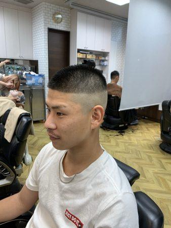 ★人気スタイル★短髪フェード楽々スタイリング