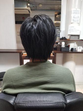 リアルお客様ヘアスタイル【ツーブロマッシュウルフ】